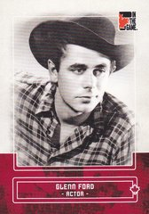 Glenn Ford 2011 In The Game Canadiana Red Base card #32