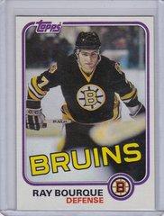 Ray Bourque 1981-82 Topps Hockey card #5