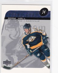 Adam Hall 2002-03 Upper Deck Hockey Young Guns Rookie card # 211