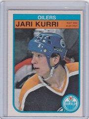 Jari Kurri 1982-83 O-Pee-Chee Hockey card #111