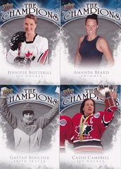 2009-10 Upper Deck The Champions Insert card choose your cards from the list