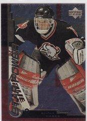 Dominik Hasek 1999-2000 Upper Deck Gold Reserve Hockey Star Power card # 145