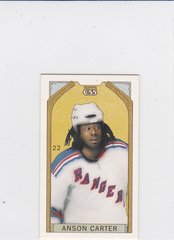Anson Carter 2003-04 Topps C55 Mini card #22 O'Canada Black Back