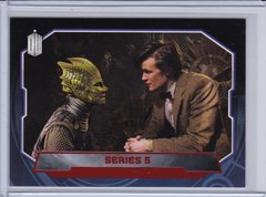 Doctor Who Trading Cards card #197 Series 5 Red Foil #d 43/50 2015 Topps