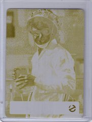 Ghostbusters Yellow Printing Plate 1/1 for card #25 I Am The Keymaster