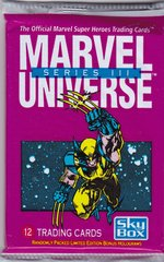 1992 Marvel Universe Series 3 Unopened 12 card Pack