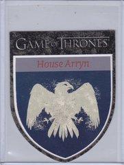 Game Of Thrones Season 1 The Houses Die Cut Insert card H6 House Arryn