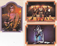 1978 Kiss Trading card singles Choose your numbers from the list
