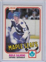 Borje Salming 1981-82 O-Pee-Chee Hockey card #307