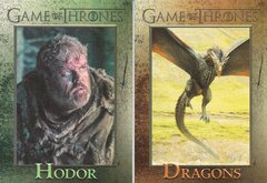 Game Of Thrones Season 4 Foil Parallel cards Choose Your Numbers From The List