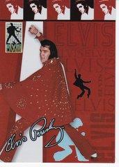 Press Pass Elvis Lives Elvis Fashion Foil Insert card # 5/12