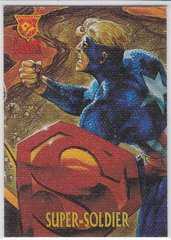 Amalgam Trading Cards Canvas Cards Insert 9 of 9 Super Soldier