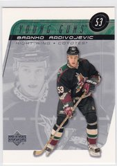 Branko Radivojevic 2002-03 Upper Deck Hockey Young Guns card # 219