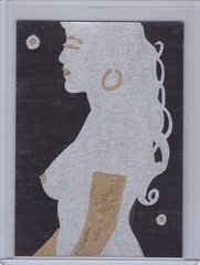 The Art of Burlesque Artist Sketch card BS1
