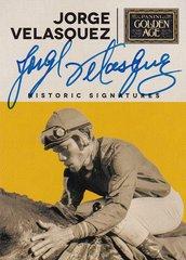 2014 Panini Golden Age Jorge Velasquez Autographed card VEL