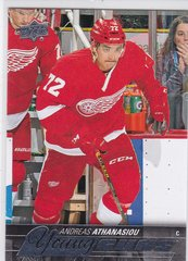 Andreas Athanasiou 2015-16 Upper Deck Young Guns Rookie card #458 Red Wings
