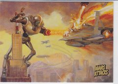 2013 Topps Mars Attacks Invasion card #19 Gold Foil Parallel
