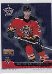 Kristian Huselius 2001-02 Vanguard card #114 Premiere Date parallel #d 70/83