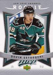 Devin Setoguchi 2007-08 UD MVP Hockey Rookie card #373