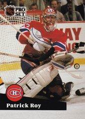 Patrick Roy 1991-92 Pro Set French card #125
