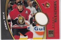 Shawn Mceachern 2001-02 Topps Reserve Hockey Jersey Relic card TR-SM