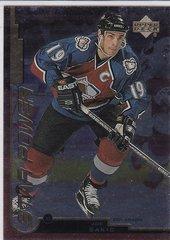 Joe Sakic 1999-2000 Upper Deck Gold Reserve Hockey Star Power card # 159