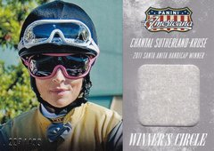 Chantal Sutherland-Kruse 2015 Americana Winners Circle Material WM-CS #d 223/499