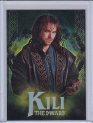 2014 Cryptozoic The Hobbit Foil Character Biography card CB-06 Kili