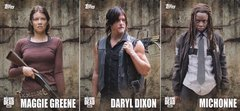 Topps Walking Dead Season 5 Character Profiles Insert cards choose your number from the list