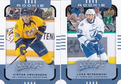 2015-16 MVP Hockey Rookie cards Choose your numbers from the list