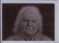 Lord Of The Rings Masterpieces 2 Bronze Parallel Foil Art Insert card 9 of 9 Bilbo