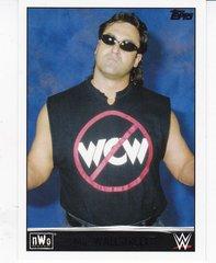 2015 Topps WWE Heritage NWO Tribute card # 36 of 40 Mr Wallstreet