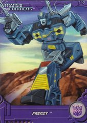 Transformers Optimum Collection G1 Foil Card TF11 Frenzy