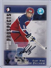 Alex Ovechkin 2004-05 Heroes and Prospects Autograph card A-A01 2015-16 Final Vault