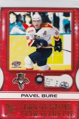 Pavel Bure 2000-01 Pacific McDonald's Hockey Dial-A-Stats card #3