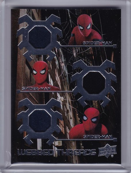 Spider-Man Homecoming Webbed Threads Triple Memorabilia WTT4