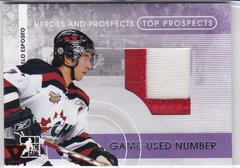 Angelo Esposito 2015-16 Final Vault 09 Heroes & Prospects Number TPN-04 V 1/1