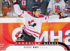 Derek Roy 2009-10 O-Pee-Chee Hockey Canadian Heroes insert card CB-RO