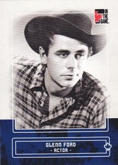Glenn Ford 2011 In The Game Canadiana base card #32 Blue parallel PR /50