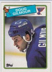 Doug Gilmour 1988-89 Topps Hockey card #56