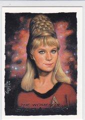 Yeoman Rand 2010 The Women Of Star Trek Artifex Insert Card