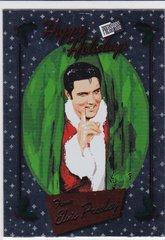 Elvis Press Pass Bonus Box Exclusive Foil card HI-3 Happy Holidays from Elvis