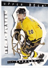 Ray Ferraro 1994-95 Be A Player Autograph card #92