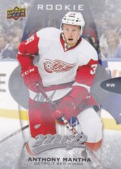 Anthony Mantha 2016-17 UD MVP Rookie card #296 Silver Script