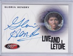 James Bond 50th Anniversary Gloria Hendry as Rosie Carver Autographed card A220