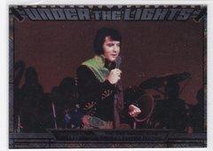 Elvis Milestones 2010 Press Pass Under The Lights Insert card UTL 5/12