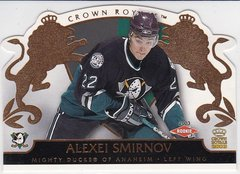 Alexei Smirnov 2002-03 Crown Royale Hockey Rookie card #103 #d 1029/2299
