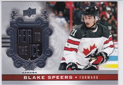 Blake Speers 2017-18 Canadian Tire Team Canada Heir To The Ice card 157