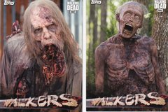 Topps Walking Dead Season 6 Walkers Insert Choose Your Numbers from the list