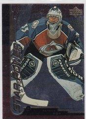 Patrick Roy 1999-2000 Upper Deck Gold Reserve Hockey Star Power card # 141